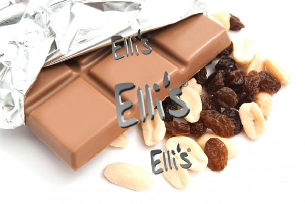 Schokolade Traube Nuss