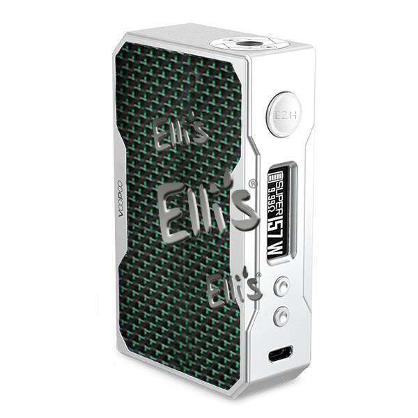 Voopoo Drag Box Carbon Fiber Mod - grün