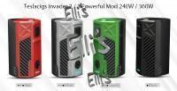 Teslacigs Invader 2/3 Akkuträger - schwarz
