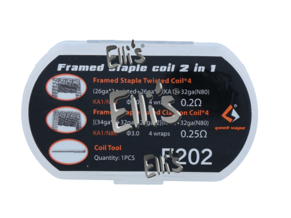 Fused clapton coil 2in1 - F202