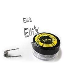 COILART 10 x Prebuild Clapton Twisted Coil 0.9 Ohm (28GAx32GA/28GAx32GA) - P17