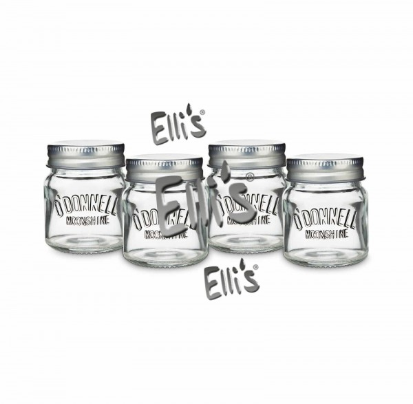 O'Donnell Mason Jar Shotgläser, 4cl