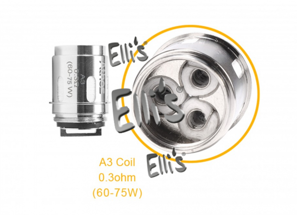 Aspire A3 Kanthal AF Tri-Coil Heads 0,3 Ohm (5 Stück pro Packung)