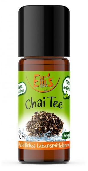 Chai Tee - Natürliches Lebensmittelaroma - Ellis Aromen