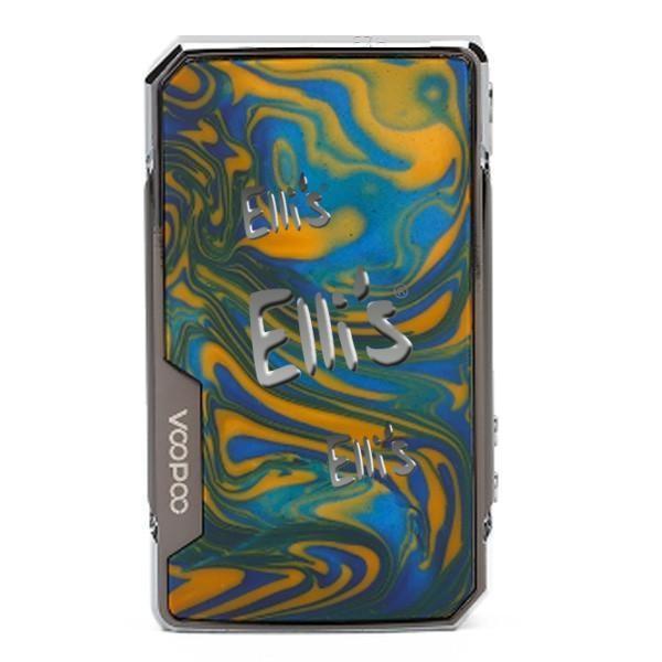 Voopoo drag Box 2 Mod - blau gelb - Rahmen schwarz