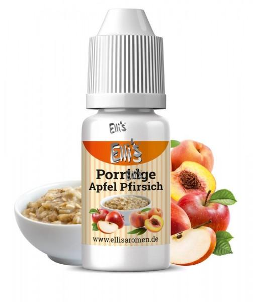 Apfel Pfirsich Porridge Ellis Lebensmittelaroma Ellis Aromen