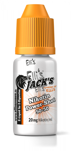 Jack's Nikotin Power Shot 20mg - 5x10ml - Aktion