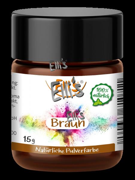 Pulver Lebensmittelfarbe Braun