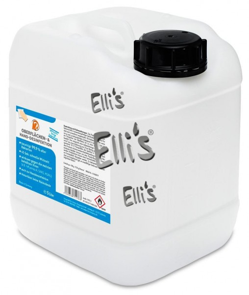 Oberflächen und Handdesinfektion - 5 Liter