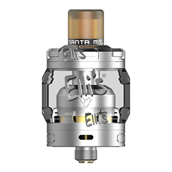 Advken Manta MTL RTA Selbstwickler Tank - silber